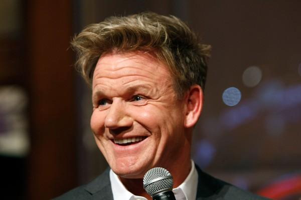 O chef e apresentador de TV Gordon Ramsay  (Foto: Getty Images)