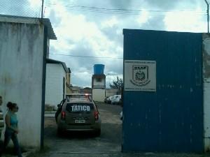 Motim foi no Presídio de Criciúma (Foto: Karol Carvalho/Rádio Eldorado)