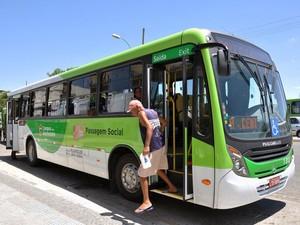 Novos ônibus estão agradando os moradores de Campos (Foto: Secom/Campos dos Goytacazes)