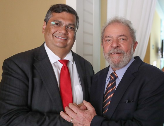 O ex-presidente Lula com Flávio Dino, governador do Maranhão (Foto: Ricardo Stuckert/Instituto Lula/Flickr)