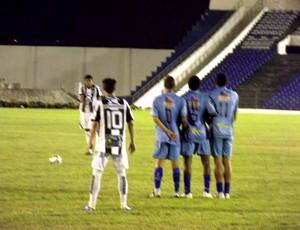 Treze x CSP (Foto: Silas Batista)