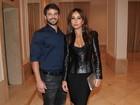 Sabrina Sato vai com Duda Nagle à festa de Ticiane Pinheiro