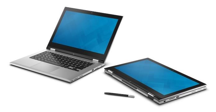 O consumidor escolhe em que posição quer usar o aparelho (Divulgação/Dell)