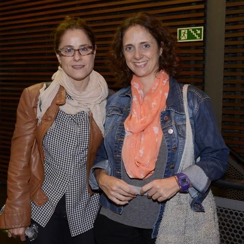 Soraya Ravenle e Letícia ISnard (Foto: Ana Colla)