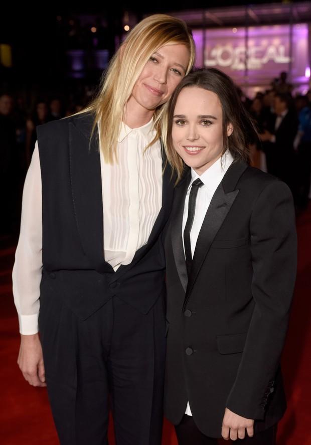 Ellen Page e a namorada, Samantha Thomas (Foto: Getty Images)