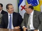 Executiva do PSB se reúne com Eduardo Campos no Recife