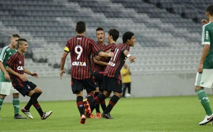 Atlético-PR Palmeiras sub-17 (Foto: Marco Oliveira/Atlético-PR