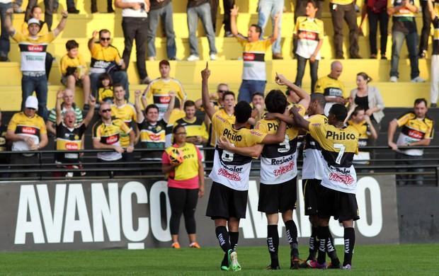 gol Criciúma x Bahia (Foto: Fernando Ribeiro / Futura Press)