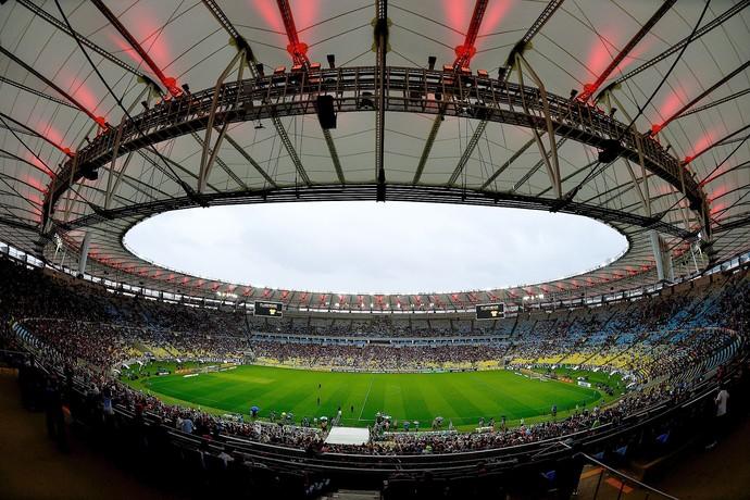 Flamengo x Fluminense Maracanã (Foto: Buda Mendes / Getty Images)
