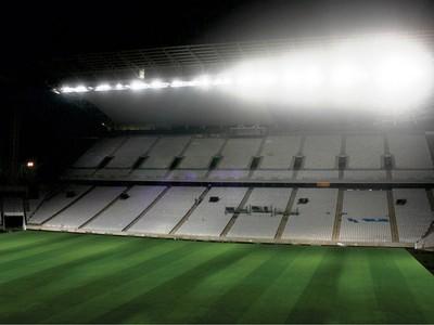 arena corinthians iluminação (Foto: Divulgação/Odebrecht)