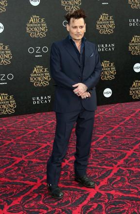 Johnny Depp em première de filme em Los Angeles, nos Estados Unidos (Foto: Frederick M. Brown/ Getty Images/ AFP)