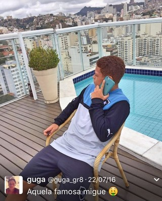Gustavo Rodrigues, Botafogo (Foto: Reprodução / Twitter)