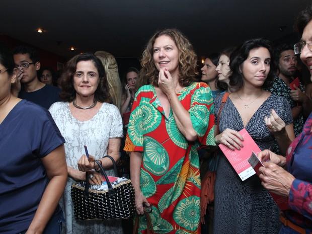 Marieta Severo e Patrícia Pillar em peça na Zona Sul do Rio (Foto: Marcello Sá Barretto/ Ag. News)