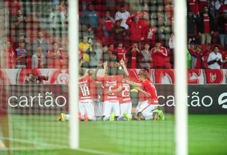 Inter x Fortaleza, Copa do Brasil, Beira-Rio, gol, Aylon (Foto: Ricardo Duarte/Internacional/Divulgação)