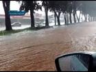 Forte chuva alaga vários pontos do Distrito Federal neste sábado; veja