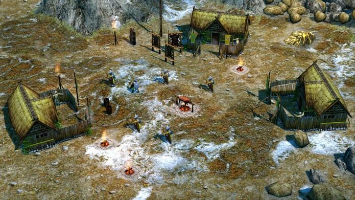 Equilibrando melhor os atributos de cada civilização, o game ainda oferece um excelente ambiente multiplayer (Foto: Divulgação/Microsoft Studios)