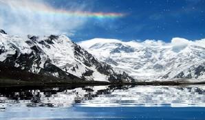 mountain landscape screensaver