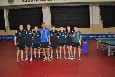 seleção, brasileira, tênis de mesa (Foto: Divulgação/CBTM)