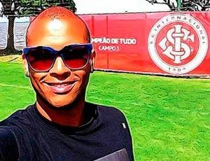 Gabriel posta foto no CT do Parque Gigante (Foto: Reprodução/WhatsApp)