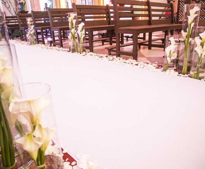 Ownnnn... Quem quer um casamento assim também? (Foto: Raphael Dias/Gshow)