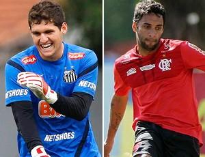 Rafael Ibson Santos Flamengo (Foto: Editoria de Arte / Globoesporte.com)
