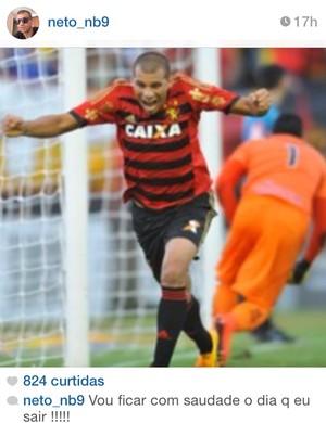 Neto Baiano Sport (Foto: Reprodução)