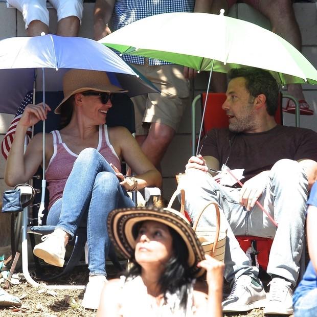 Ben Affleck e Jennifer Garner (Foto: AKM-GSI)