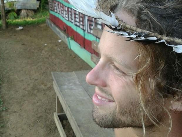 Johnny Motley tem 26 anos, é americano e quer trabalhar na Amazônia (Foto: Arquivo pessoal)