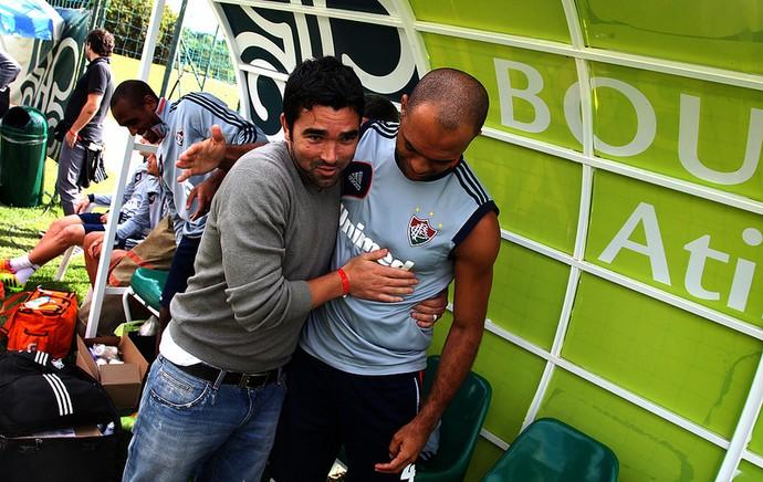deco fluminense leandro euzébio atibaia (Foto: Nelson Perez / FluminenseFC)