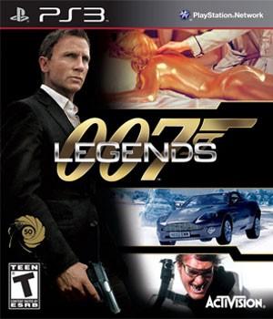 Capa de '007 Legends'. (Foto: Divulgação)