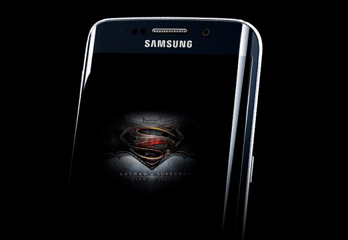 Galaxy S7 do filme Batman vs Superman deve seguir moldes da versão do Homem de Ferro lançada em 2015 (Foto: Reprodução/Paulo Alves)