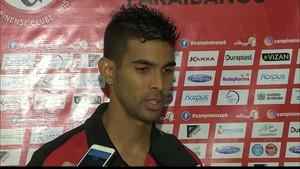 Augusto, Campinense (Foto: Reprodução / TV Paraíba)