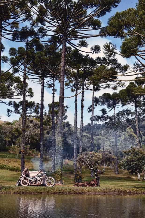 Motos chopper camp (Foto: Divulgação)