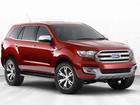 Ford apresenta o SUV de sete lugares Everest
