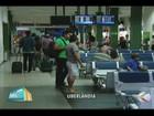 Movimento em rodoviária e aeroporto de Uberlândia reduz em dezembro