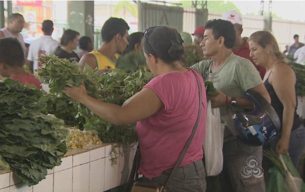 O grupo alimentício teve aumento no mês de setembro. (Foto: Reprodução/TV Amapá)