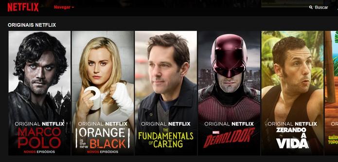 Plano mais básico do Netflix tem vídeos em SD (Foto: Reprodução/Barbara Mannara)