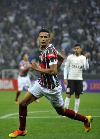 Cícero, Corinthians x Fluminense (Foto: Agência Estado)