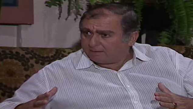 Fernando pressiona Donato mais uma vez para saber o que Joana tem a ver com a morte de Chico da Silva (Foto: Reproduo/viva)