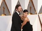 Oscar 2016: Sarah Silverman dá apalpada indiscreta no namorado