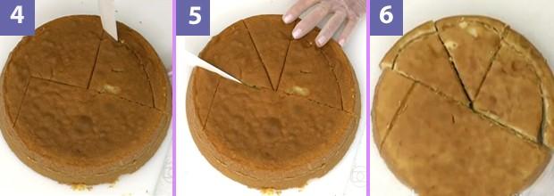 Confira mais alguns passos para cortar o bolo coelhnho (Foto: Mais Você - TV Globo)
