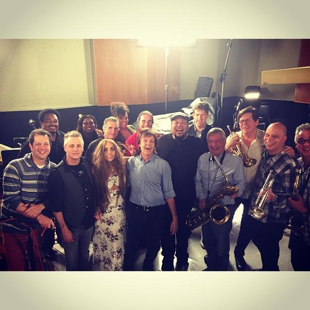 Lady Gaga e Paul McCartney (Foto: Reprodução/Instagram)