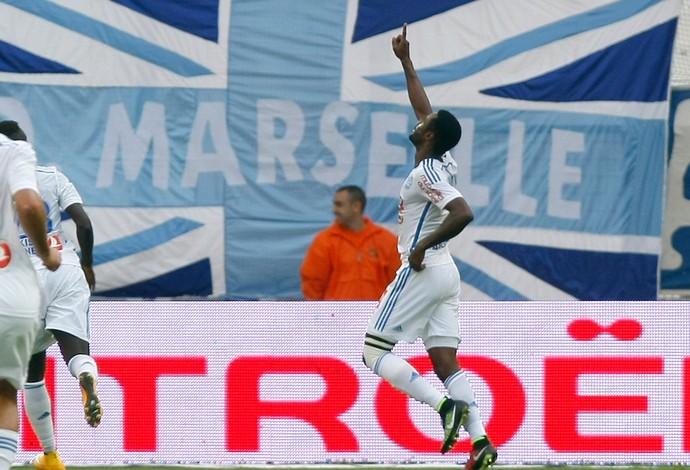 nkolou Olympique Marseille x toulouse (Foto: AP)