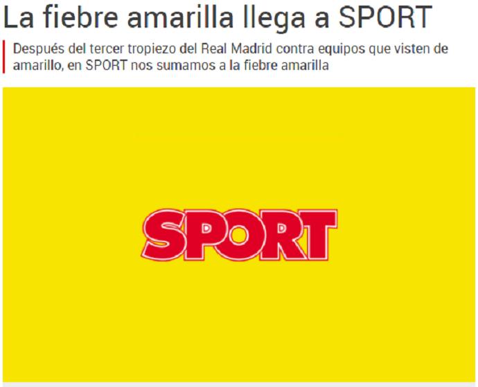 Perfis do jornal Sport entram na