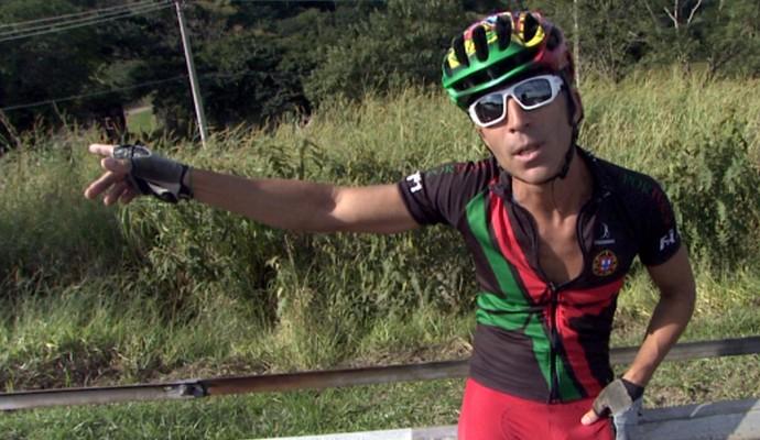 Jorge Franco torcedor português (Foto: Reprodução / EPTV)