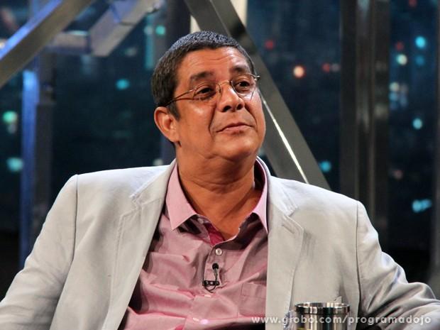Zeca Pagodinho participa do Programa do Jô desta segunda-feira (Foto: TV Globo/Programa do Jô)
