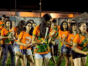 Bateria da Atlética Turuna (Foto: Bruno Antunes/Cuiabá Arsenal)