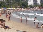 Levantamento mostra que litoral tem cinco praias impróprias para banho