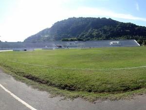 Estádio municipal Antônio Fernandes em Guarujá, SP (Foto: Rafael Cicconi/Prefeitura de Guarujá)