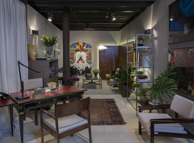 Ambiente de Cybele Barbosa para a mostra Modernos Eternos 2016 (Foto: André Krotz/Divulgação)